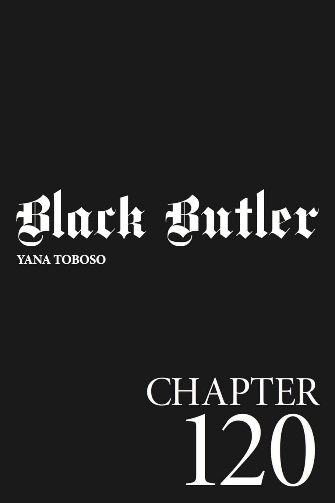 Black Butler #120