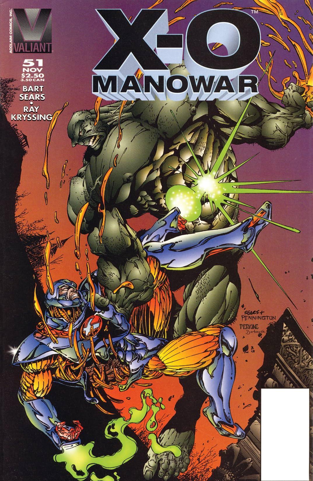 X-O Manowar (1992-1996) #51