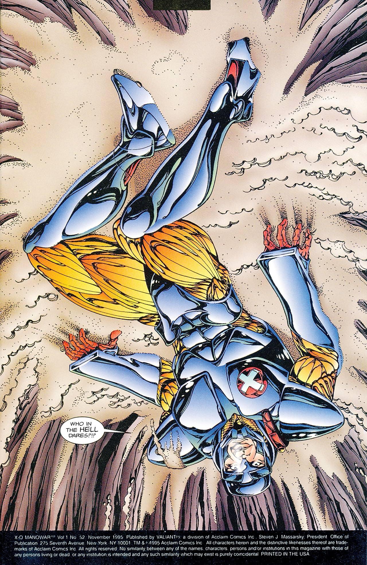 X-O Manowar (1992-1996) #52