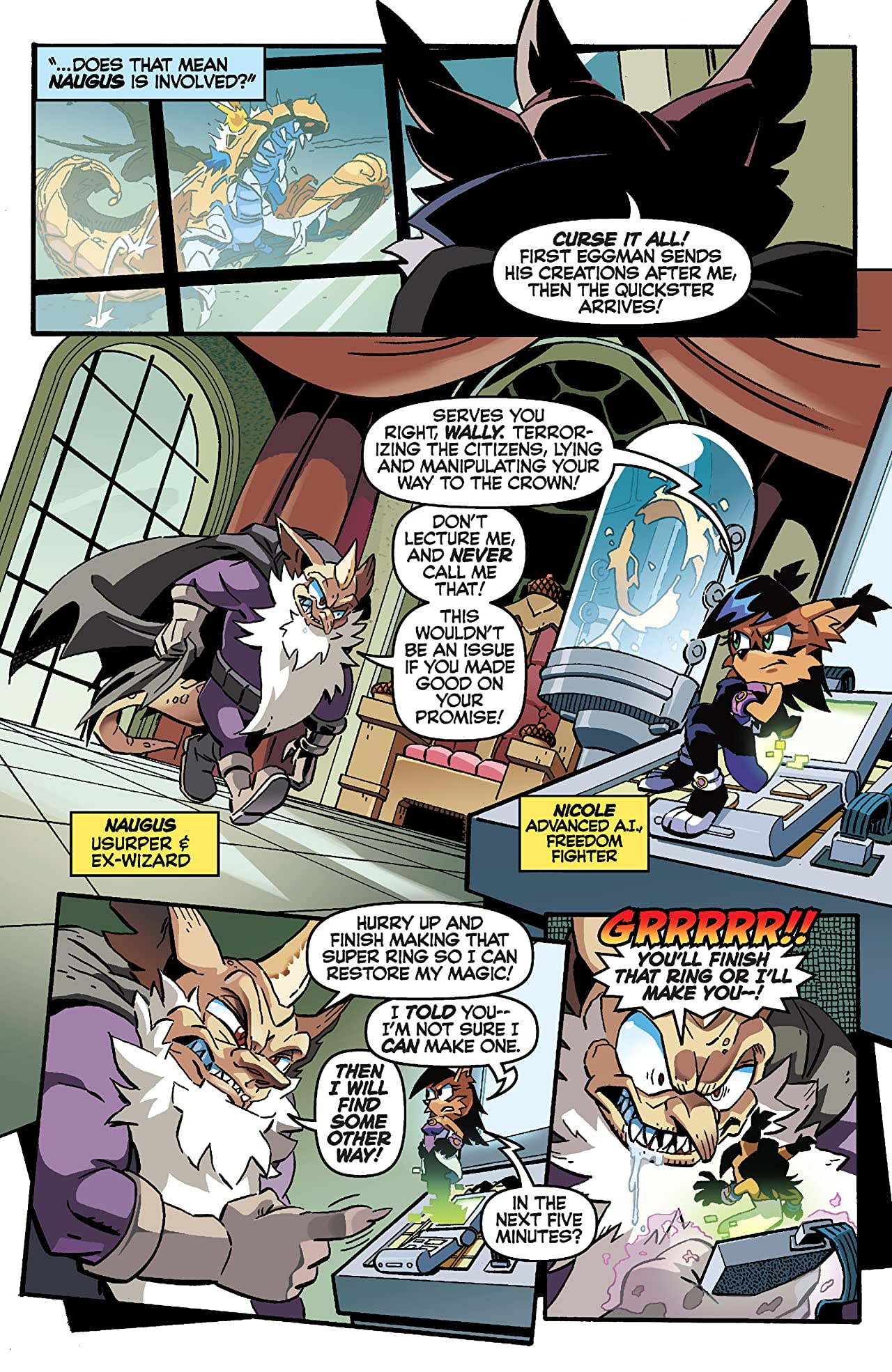 Sonic the Hedgehog #252