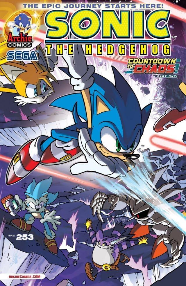 Sonic the Hedgehog #253