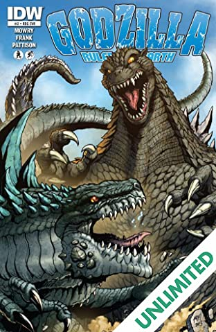 Godzilla: Rulers of Earth #2