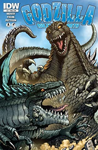 Godzilla: Rulers of Earth No.2