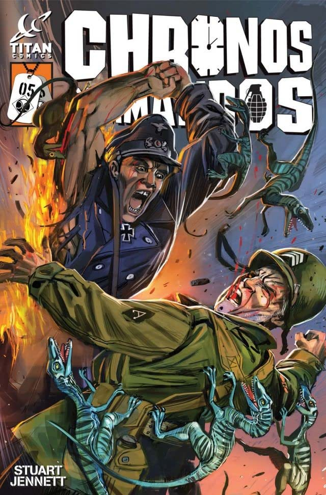 Chronos Commandos: Dawn Patrol #5 (of 5)