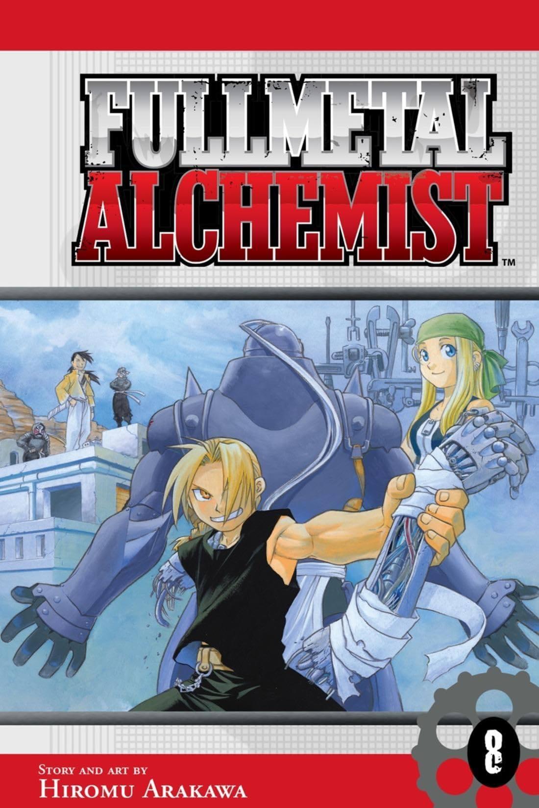Fullmetal Alchemist Tome 8