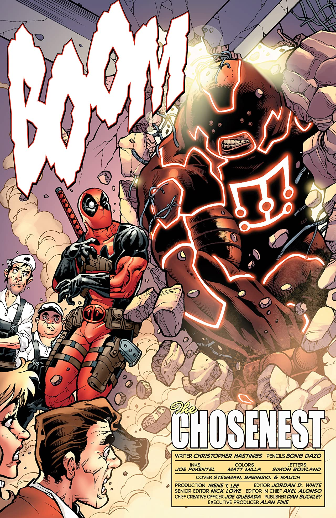 Fear Itself: Deadpool #1 (of 3)