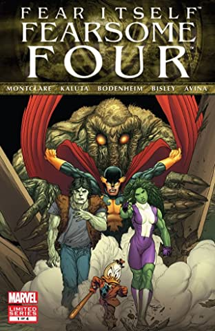 Fear Itself: Fearsome Four #1 (of 4)