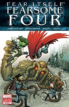 Fear Itself: Fearsome Four #2 (of 4)