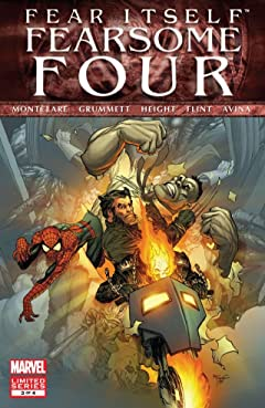 Fear Itself: Fearsome Four #3 (of 4)