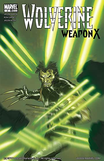 Wolverine: Weapon X #2