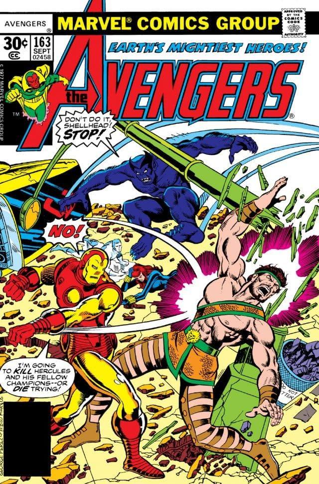 Avengers (1963-1996) #163