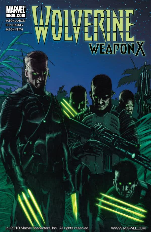 Wolverine: Weapon X #3