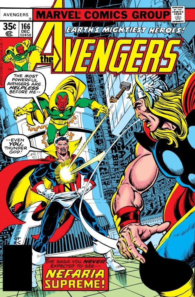 Avengers (1963-1996) #166