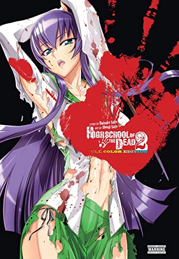Highschool of the Dead (Color Edition) Vol. 2
