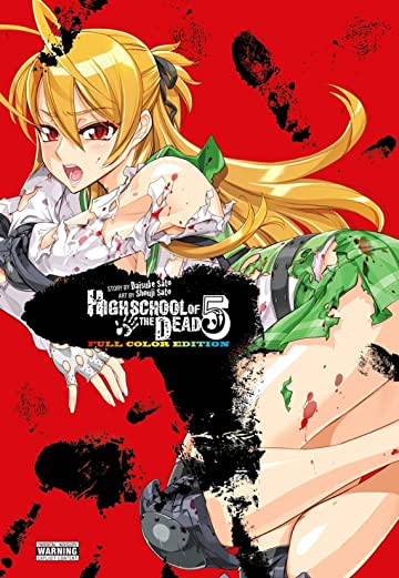Highschool of the Dead (Color Edition) Vol. 5