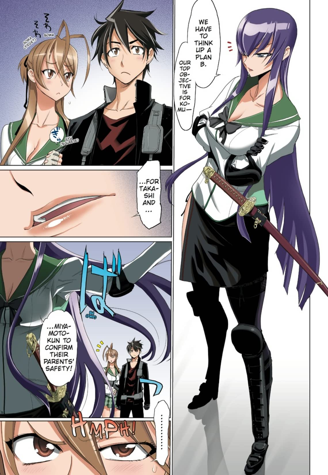 Highschool of the Dead (Color Edition) Vol. 6