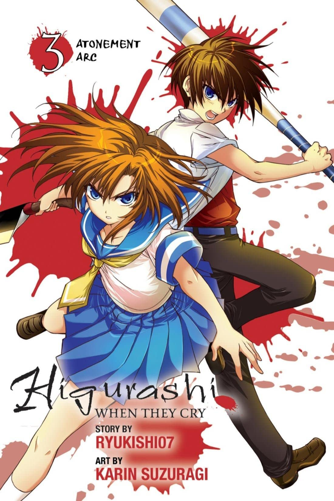 Higurashi When They Cry Vol. 3: Atonement Arc