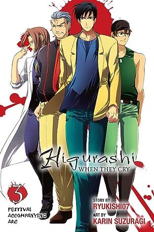 Higurashi When They Cry Vol. 3: Festival Accompanying Arc