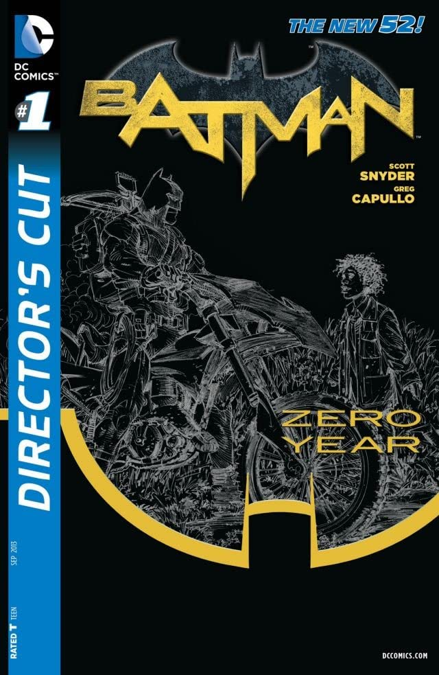 Batman Zero Year Director's Cut #1