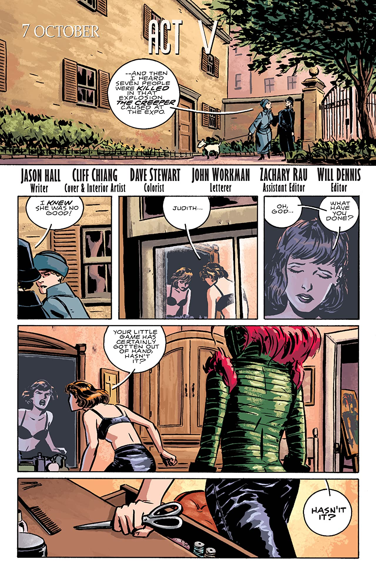 Beware The Creeper (2003) #5 (of 5)