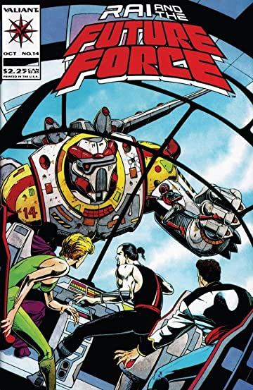 Rai and the Future Force (1992-1995) #14