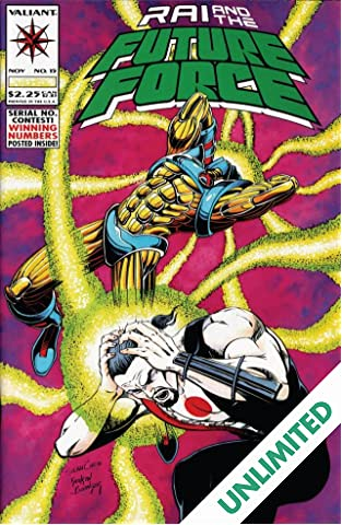 Rai and the Future Force (1992-1995) #15