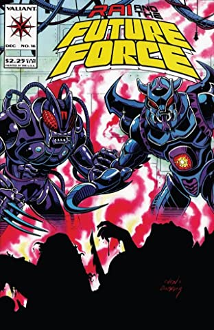 Rai and the Future Force (1992-1995) No.16