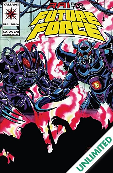 Rai and the Future Force (1992-1995) #16