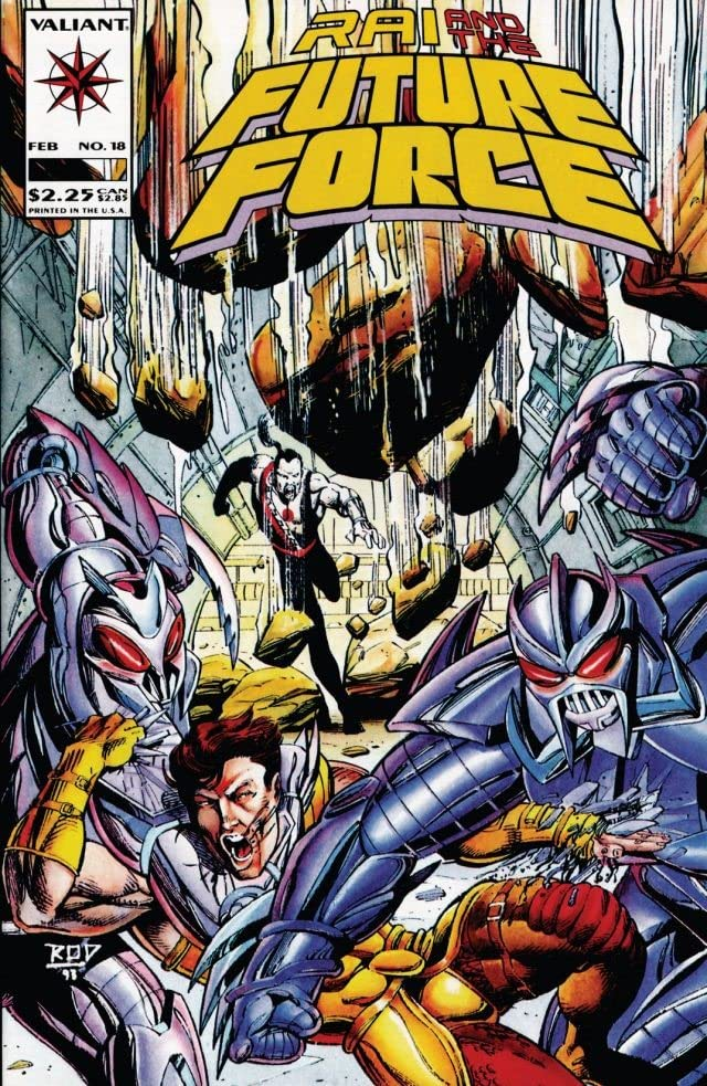 Rai and the Future Force (1992-1995) #18