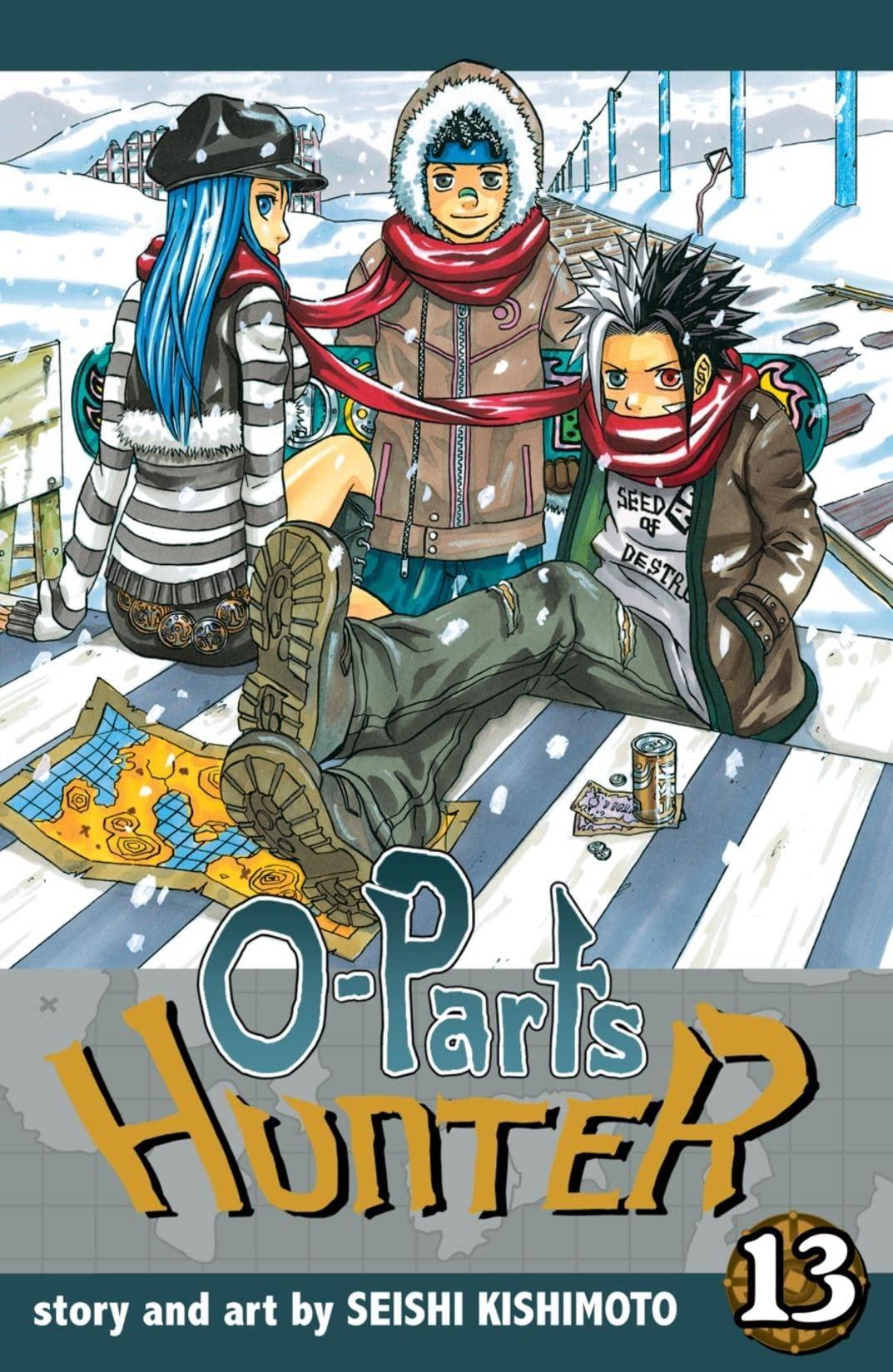 O-Parts Hunter Vol. 13