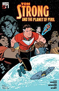 Tom Strong and the Planet of Peril #1 (of 6)