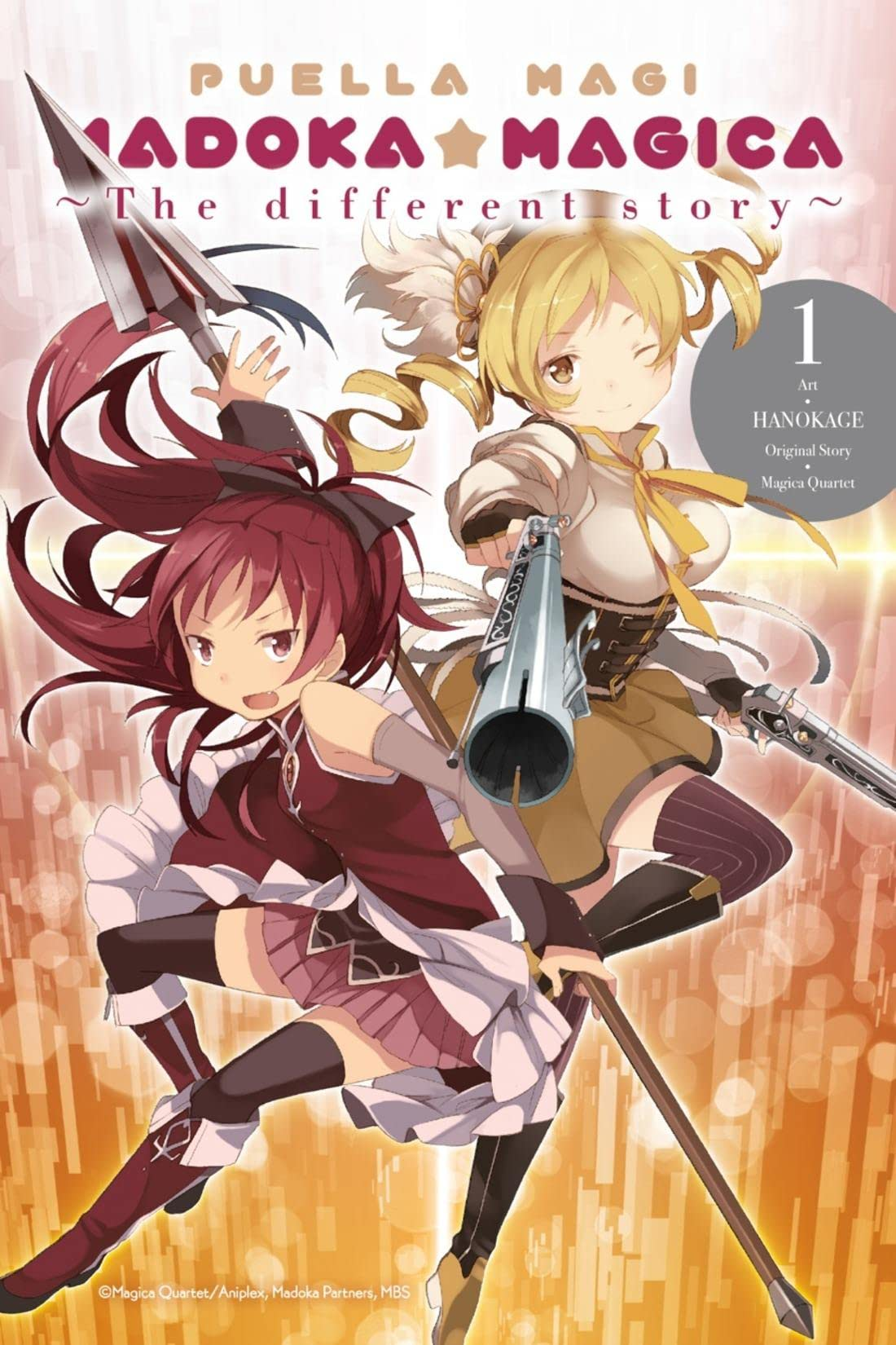 Puella Magi Madoka Magica Vol. 1: The Different Story