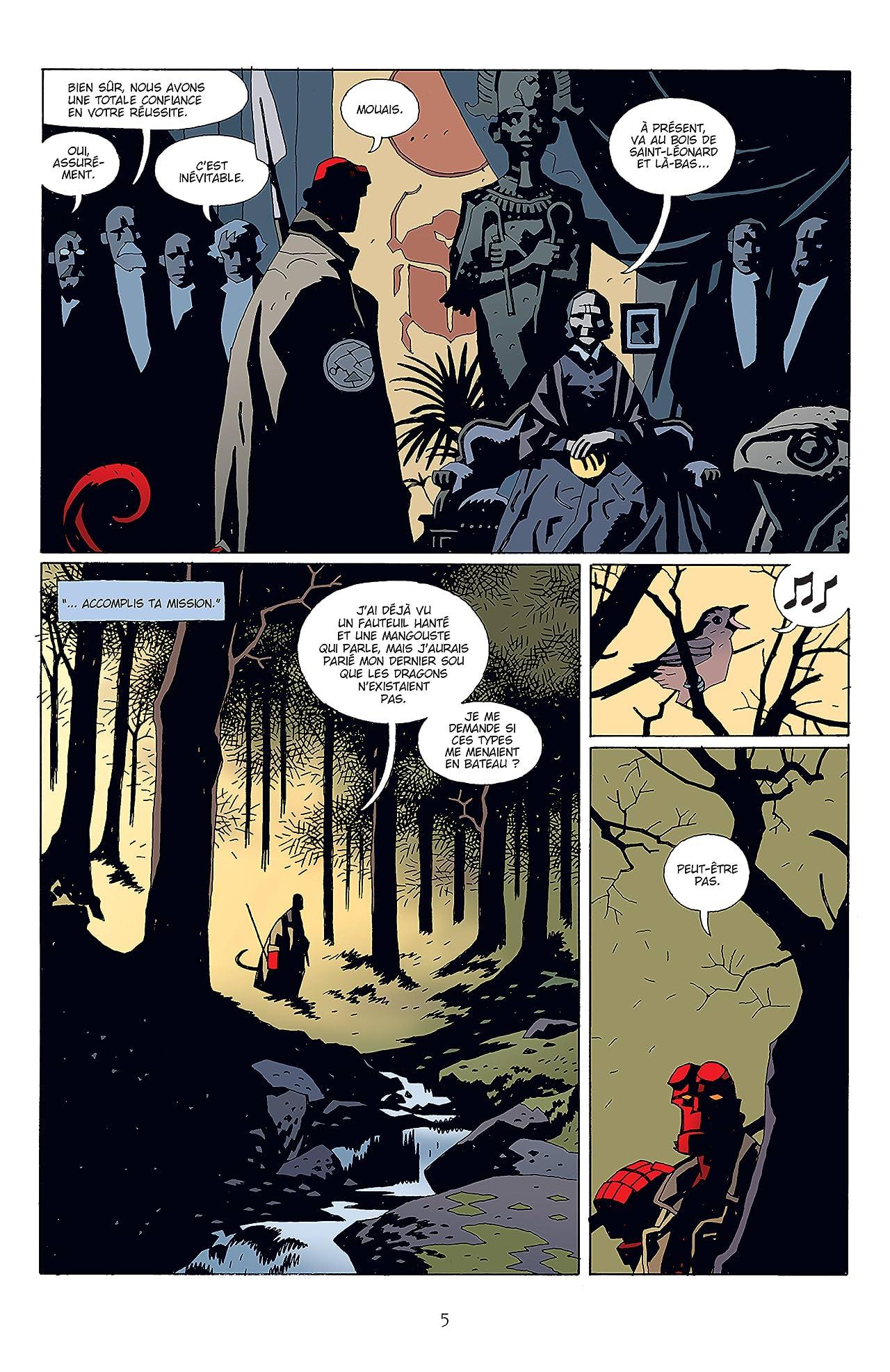 Hellboy Tome 4: La Main droite de la mort