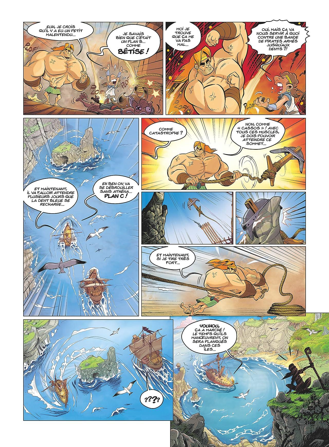 Ulysse ! Vol. 2: Il faut sauver la pythie Salpetria