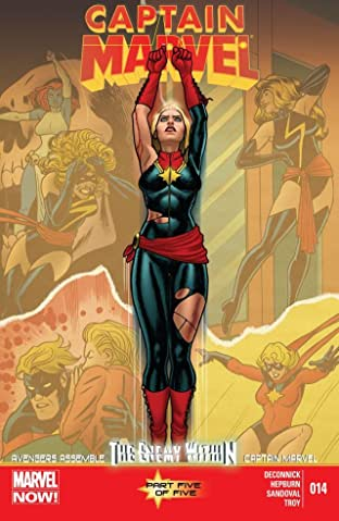 Captain Marvel (2012-2013) No.14