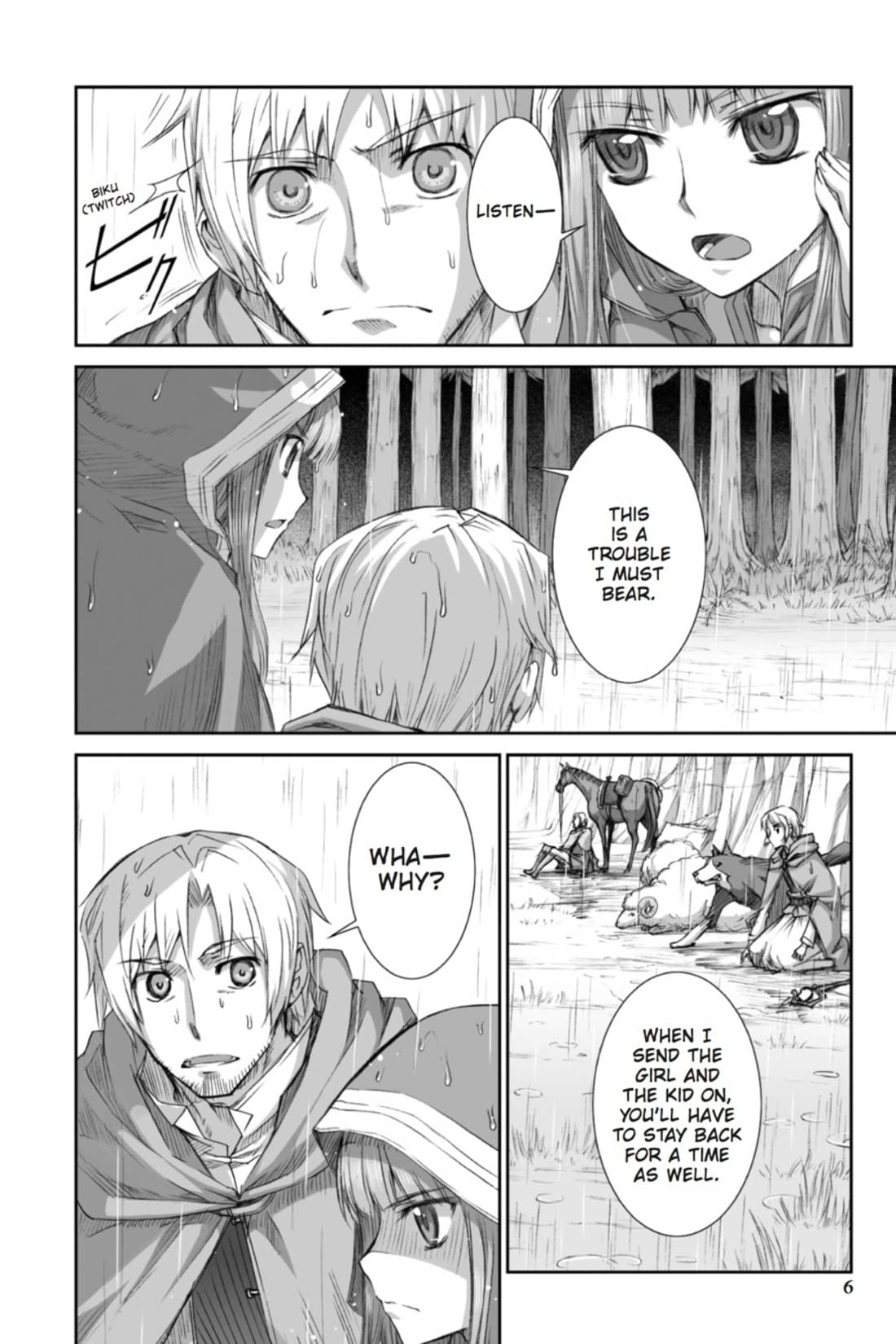 Spice and Wolf Vol. 6