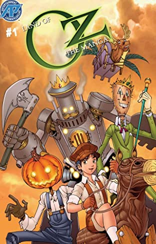 The Land of Oz: The Manga #1 (of 8)