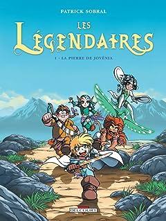 Les Légendaires Tome 1: La Pierre de Jovénia