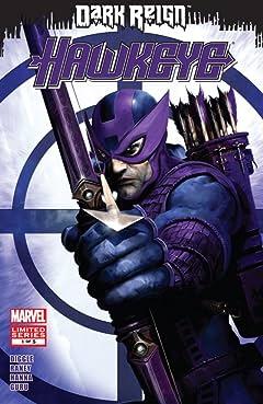 Dark Reign: Hawkeye No.1 (sur 5)