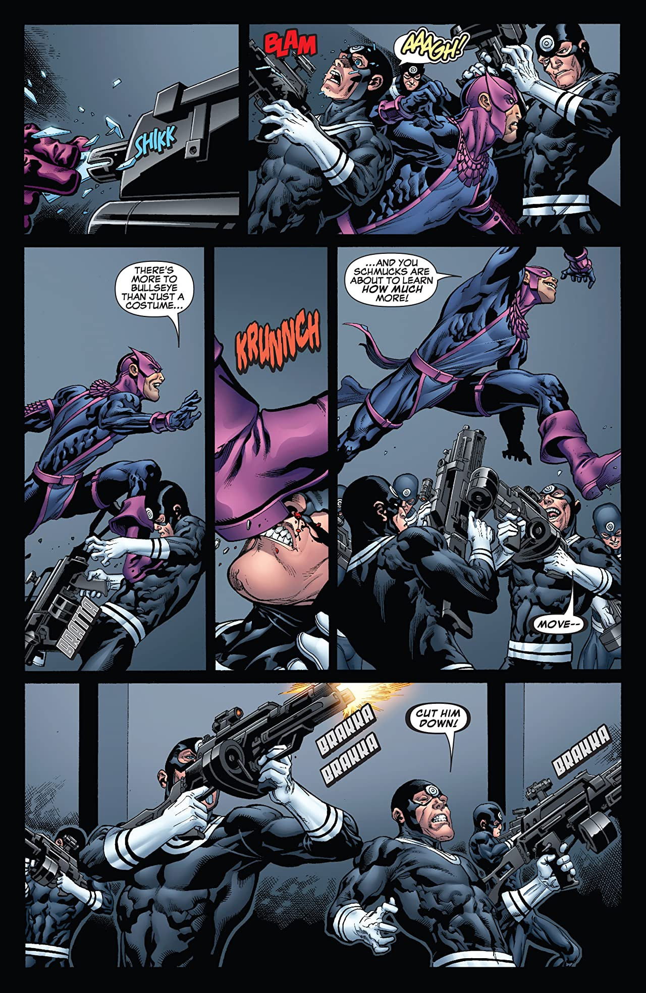 Dark Reign: Hawkeye #4 (of 5)