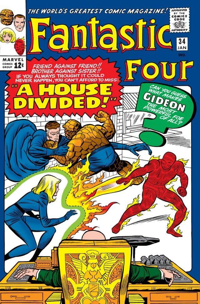 Fantastic Four (1961-1998) #34