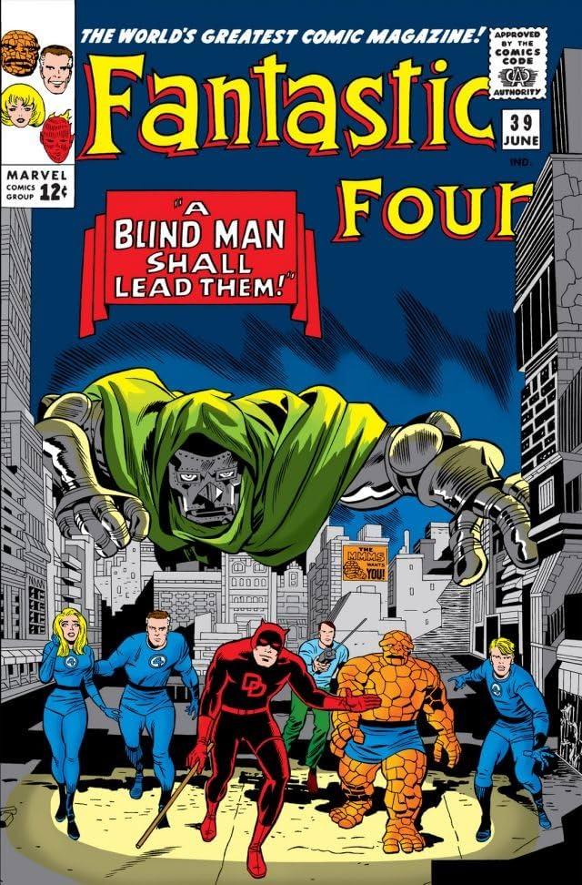 Fantastic Four (1961-1998) #39