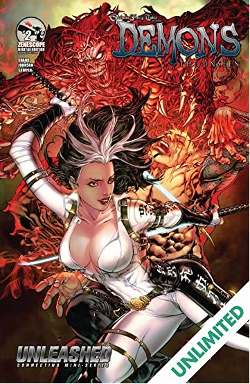 Unleashed: Demons the Unseen #2 (of 3)