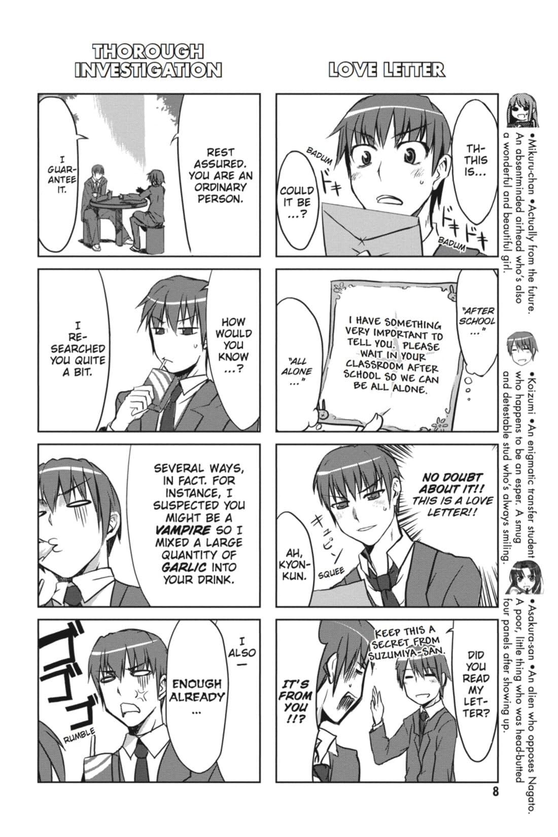 The Melancholy of Suzumiya Haruhi-chan Vol. 1