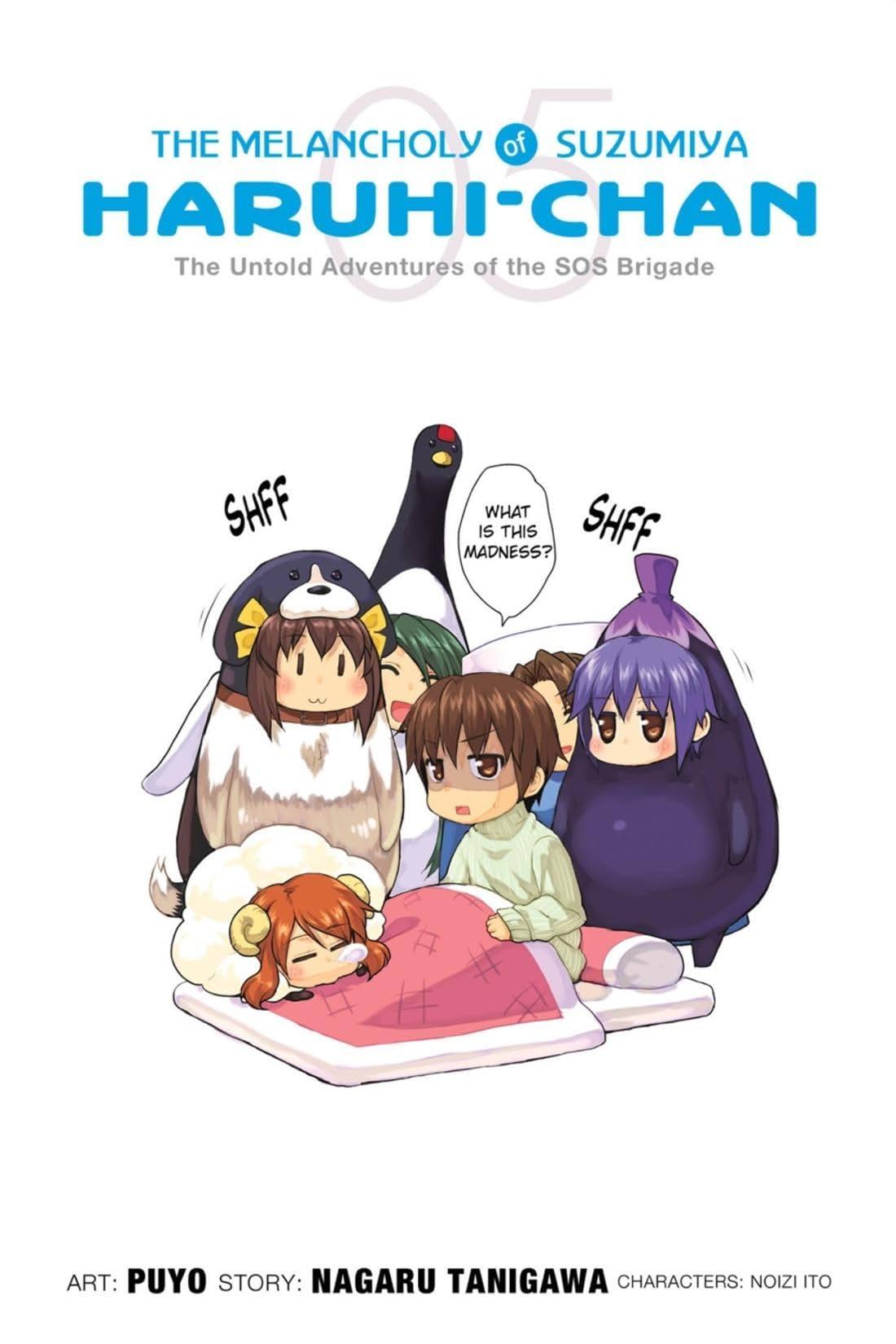 The Melancholy of Suzumiya Haruhi-chan Vol. 5