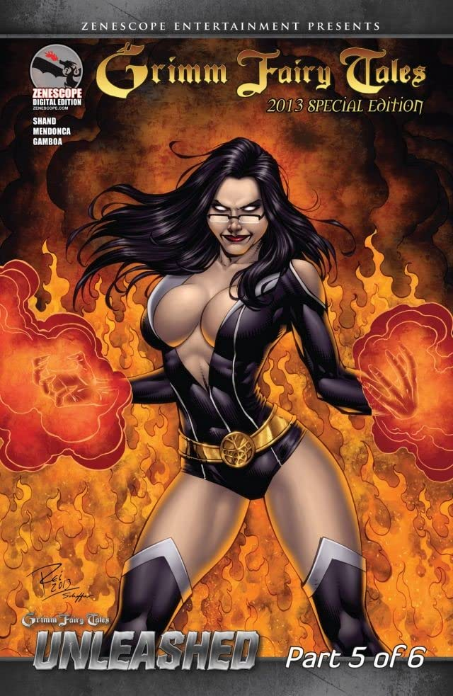 Grimm Fairy Tales 2013 Special Edition #5: Unleashed Part 5 - Night Falls