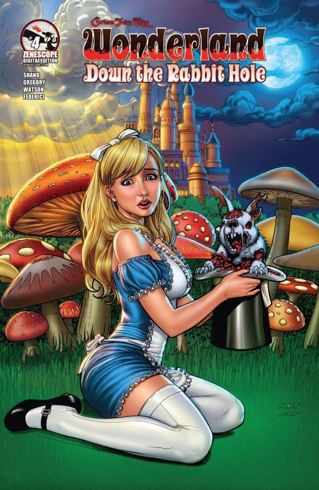 Grimm Fairy Tales Presents: Wonderland: Down the Rabbit Hole #4 (of 5)