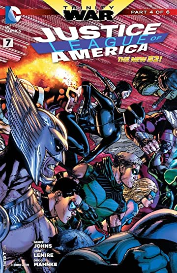 Justice League of America (2013-2015) #7