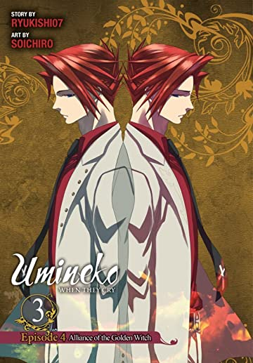 Umineko WHEN THEY CRY Episode 4: Alliance of the Golden Witch Vol. 3