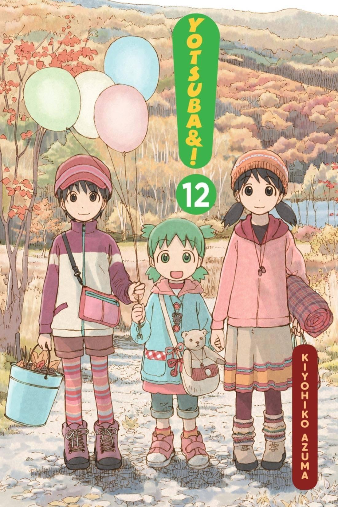 Yotsuba&! Vol. 12